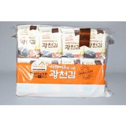 밥달라스 아마씨유로 구운 광천김16봉